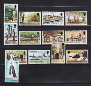 Pitcairn Islands 163-173 Set MNH Scenes
