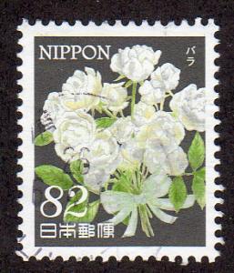 Japan 3667 - Used - Roses (Flowers) (cv $1.25)