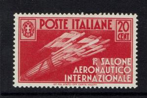 Italy SC# 345 - Mint Never Hinged (Very Light Gum Toning / Scratches) - 050717