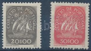 Portugal stamp Definitive closing values of the set MNH 1943 Mi 661-662 WS153121