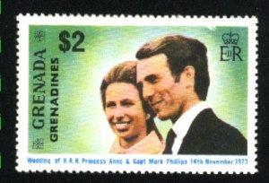 Grenada Grenadines #2   Mint NH VF 1973 PD