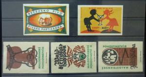 Match Box Labels ! drink beer light beer GN8