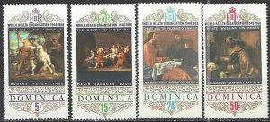 Dominica  242-5  MNH  UN WHO 20th Anniversary
