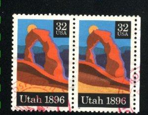 USA #3024   Pair   used 1996 PD