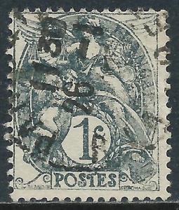 France, Sc #109, 1c Used