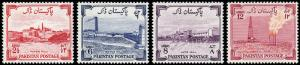 Pakistan Scott 73-76 (1955) Mint LH VF B