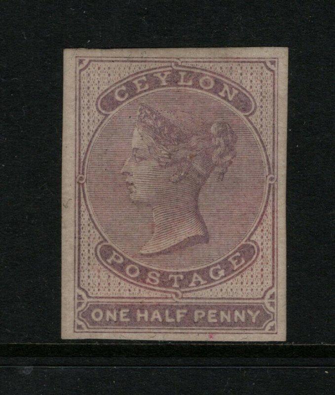 Ceylon #15 Extra Fine Mint Original Gum Hinged