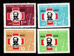 Albania 649-652 Mint NH MNH!