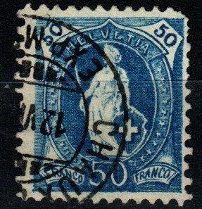 Switzerland #86a F-VF Used CV $23.00 (X1423)