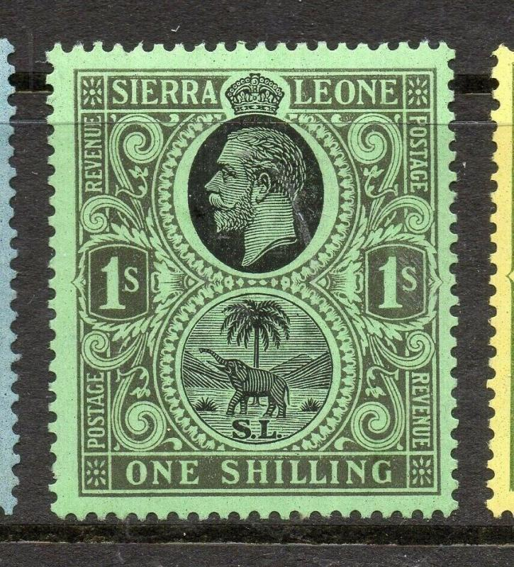Sierra Leone 1921-28 Early Issue Fine Mint Hinged 1S. 303574