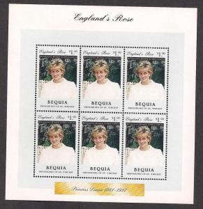 ST. VINCENT GRENADINES - BEQUIA SC# 301 F-VF MNH 1997