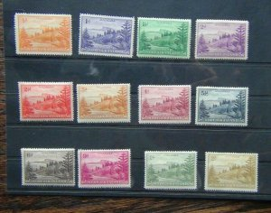 Norfolk Island 1947 set MM (1/2d 1d Unused)