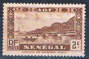 Senegal 143 MLH Faidherbe Bridge 1935 (S0777)+
