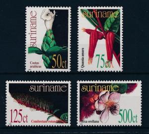 [SU757] Suriname Surinam 1993 Medical plants  MNH