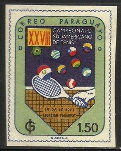 Paraguay 1961 Scott# 607 MH