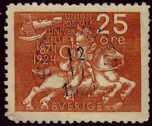 Popular Sweden SC #217 Used VF hr SCV $32.50...win a Bargain!