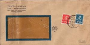 Romania 508 or 538 & 512 or 550 Cover to Germany - Censored