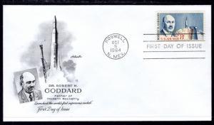 US C69 Goddard Artmaster U/A FDC