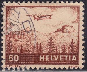 Switzerland C30 USED 1941 Alpstein
