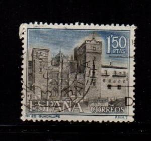 Spain - #1359 Monastery of Guadalupe - Used