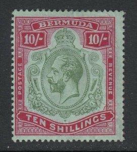 Bermuda, Sc 53 (SG 54), MHR