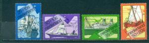 Netherlands #B493-B496  Mint VF NH  Scott $4.70