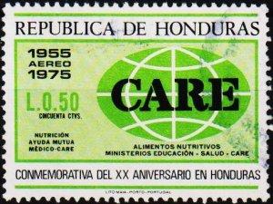 Honduras. 1976 50c S.G.880 Fine Used