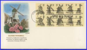 US FDC #1742a 15c Windmills ~ Fleetwood (8532)