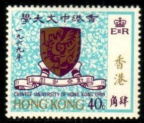Chinese University of HK, Founded 1963, Hong Kong SC#251 MNH