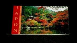 U.N. GENEVA #375, 2001, WORLD HERITAGE, JAPAN,  MNH, PRESTIGE BOOKLET, LQQK!