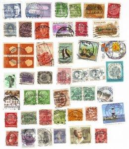 Worldwide postmarks mix #1