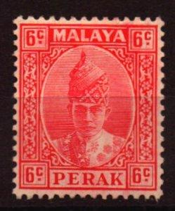 Malaya - Perak Scott 88  Unused Hinged