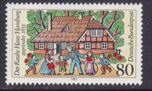 Germany 1403 MNH 1983 Rauhe Haus Orphanage Sesquicentennial Issue VF