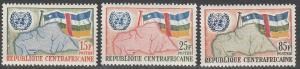 Central African Repub #14-6  MNH F-VF CV $2.75 (SU2300)
