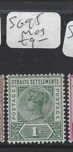 MALAYA STRAITS SETTLEMENTS (P0202B) QV 1C  SG  95  MOG