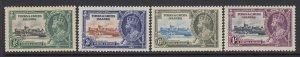Turks & Caicos Islands, Scott 71-74 (SG 187-189), MLH