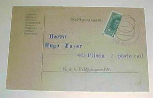 AUSTRIA   BISECT  1918 DO-----