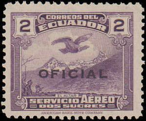 1937 Ecuador #C013-C017, Complete Set(5), Never Hinged