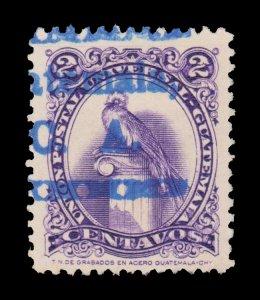 GUATEMALA STAMP 1957. SCOTT # 367. USED. # 8