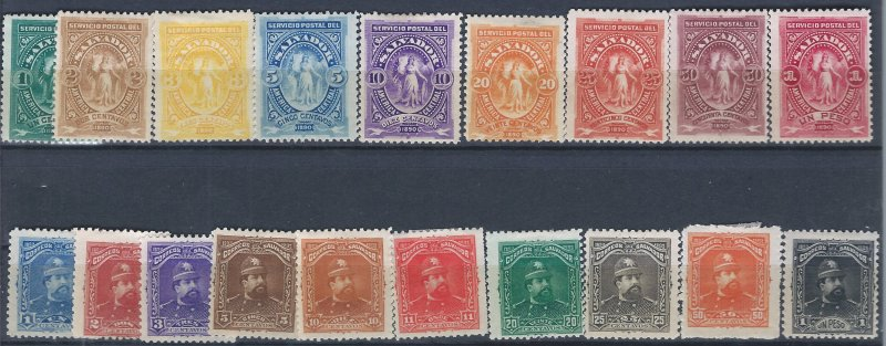 SALVADOR 36-48 MH,756-85 MH SCV $$16.75