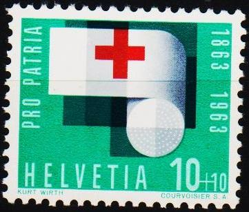 Switzerland.1963 10c+10c S.G.677 Unmounted Mint