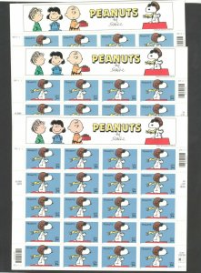 3507 Peanuts Comic Strip 3 Full Panes (60 Stamps) Mint/nh FREE SHIPPING