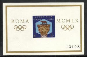 Costa Rica #C313 mnh Scott cv $6.00 Olympics