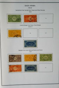 Saudi Arabia 1916 to 1980s Clean Loaded Stamp Collection