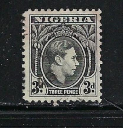 Nigeria 67 Used 1944 issue