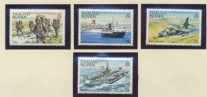 Falkland Islands Stamps Scott #375 To 378, Mint Never Hinged - Free U.S. Ship...