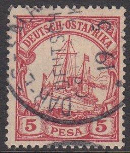 German East Africa 13 Used CV $2.50