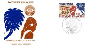 French Polynesia, Worldwide First Day Cover, Stamp Collecting