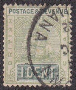 British Guiana Sc #131A Used; Mi #82b