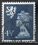 Great Britain, Regional, Scotland; 1974: Sc. # SMH4: O/Used Single Stamp